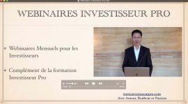 Webinaires  Investisseur Pro